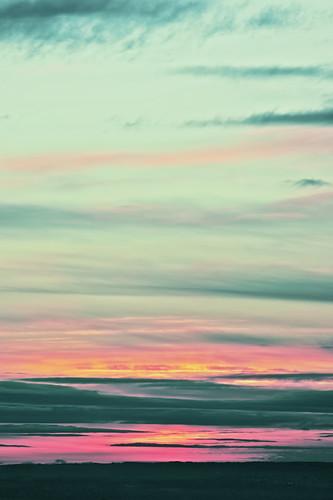 pink sunrise scottish