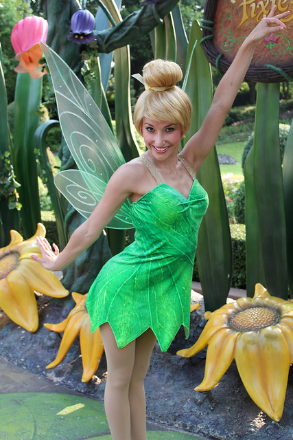Meeting Tinker Bell