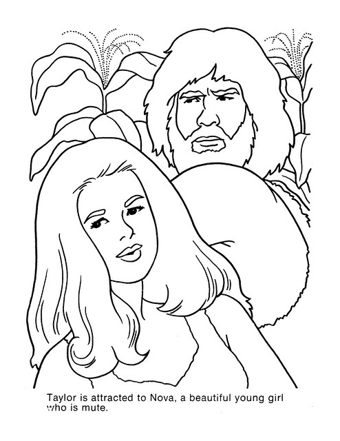Planet of the Apes Coloring Book 0200022