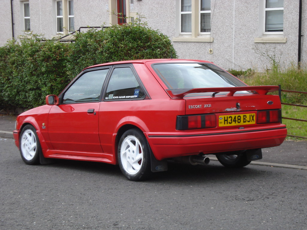1991 Ford Escort Xr3i Flickr Photo Sharing
