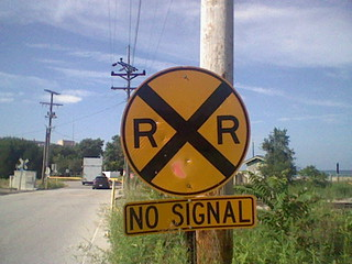 the no signal zone(no return if you get hit)