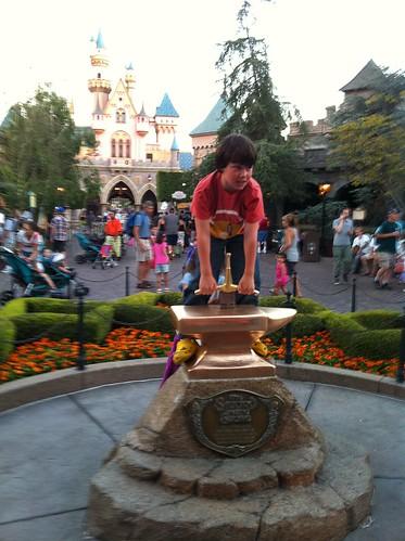 Malcolm at Disneyland