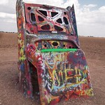 Cadillac Ranch 6, Amarillo, Texas