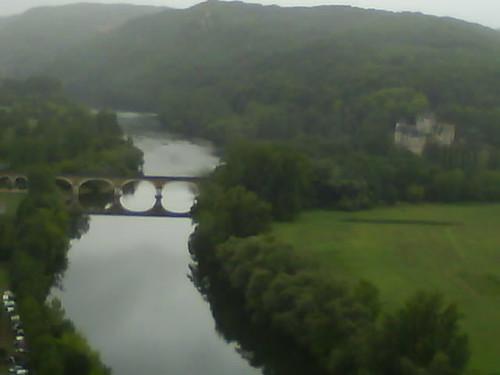 vue du chateau de beynac