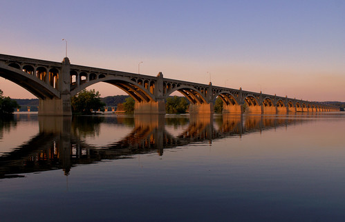 Wrightsville Bridge at Dusk