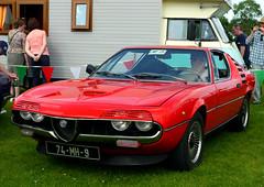 maserati merak(0.0), maserati bora(0.0), supercar(0.0), automobile(1.0), alfa romeo(1.0), alfa romeo montreal(1.0), vehicle(1.0), performance car(1.0), antique car(1.0), classic car(1.0), land vehicle(1.0), coupã©(1.0), sports car(1.0),