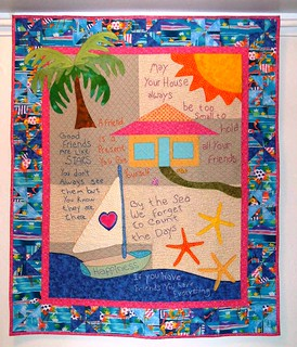 Happiness Key quilt along