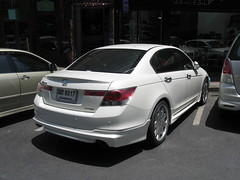 automobile(1.0), automotive exterior(1.0), executive car(1.0), wheel(1.0), vehicle(1.0), automotive design(1.0), mid-size car(1.0), honda(1.0), compact car(1.0), sedan(1.0), land vehicle(1.0), luxury vehicle(1.0), honda accord(1.0),