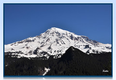 The other side of Mt. Rainier
