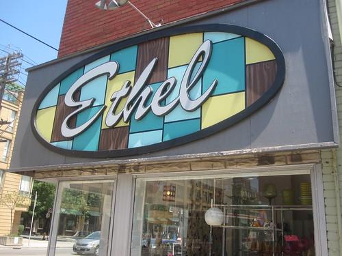 Ethel, vintage store