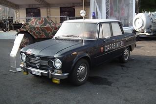 1970 Alfa Romeo Giulia Super - Carabinieri (1)