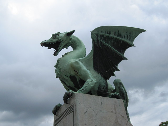Dragons in Ljubljana