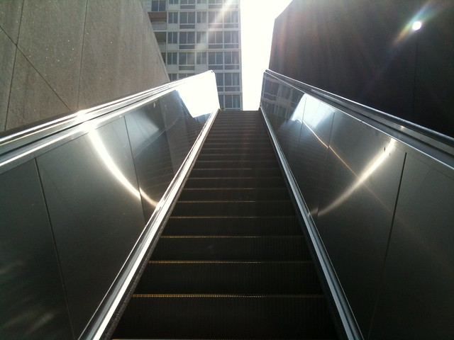 how to turn on light on iphone new foggy bottom escalator flickr photo 20418