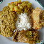 Bangladeshi Feast for Lunch - Sundarbans, Bangladesh
