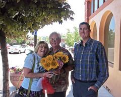 Laura, Rod, & Me - After The Memorial Service For Bobbi McCrea, Klamath Falls, Oregon