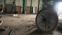 Large cogwheel