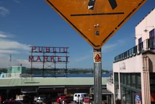 Simone am Pike Place Market, Seattle