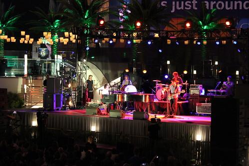 Ben Folds Performing at The Boulevard Pool at The Cosmopolitan of Las Vegas