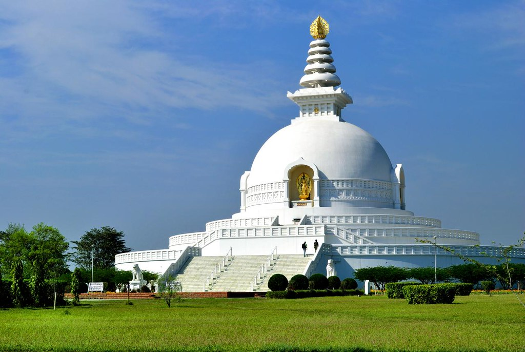 Image result for world peace pagoda lumbini