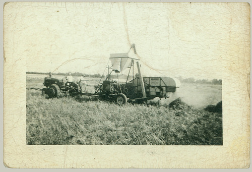 Tractor and combine