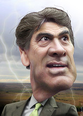 Rick Perry - Caricature