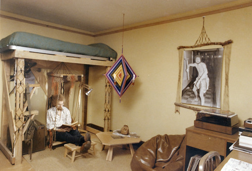 Single room, Turner House in Kronshage, 1970s.