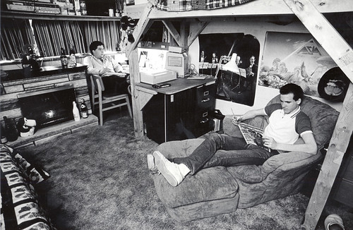 Residence Hall room, 1986