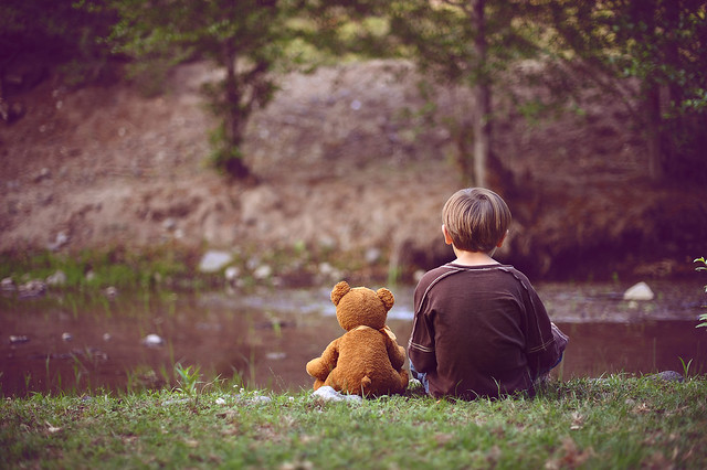 """Wherever they go, and whatever happens to them on the way, in that enchanted place on the top of the forest, a little boy and his Bear will always be playing."" ~ Winnie the Pooh"