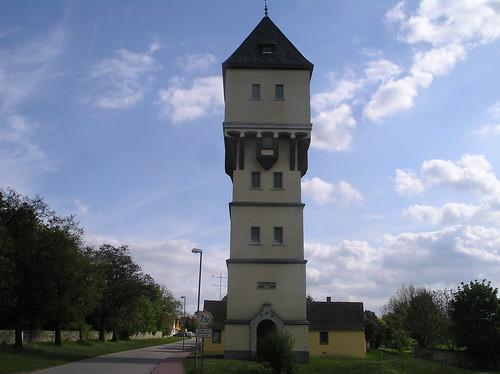 1913 Groß Börnecke Wasserturm Holzweg-Thieberg in 39444