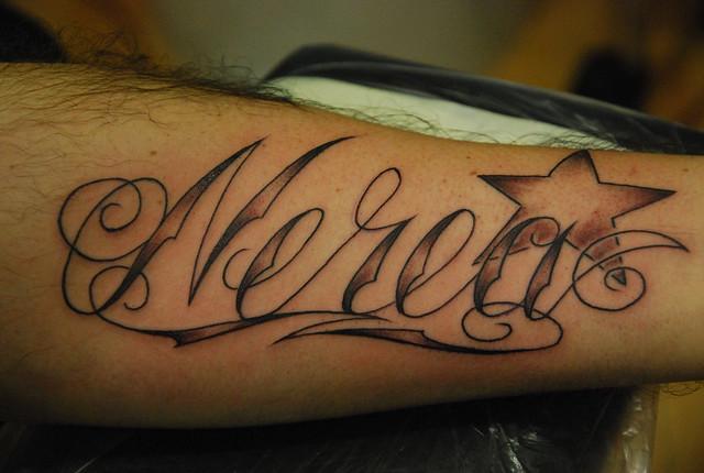 Tattoo nombre nerea tattoos de nombres www - Tattoo chiffre ...
