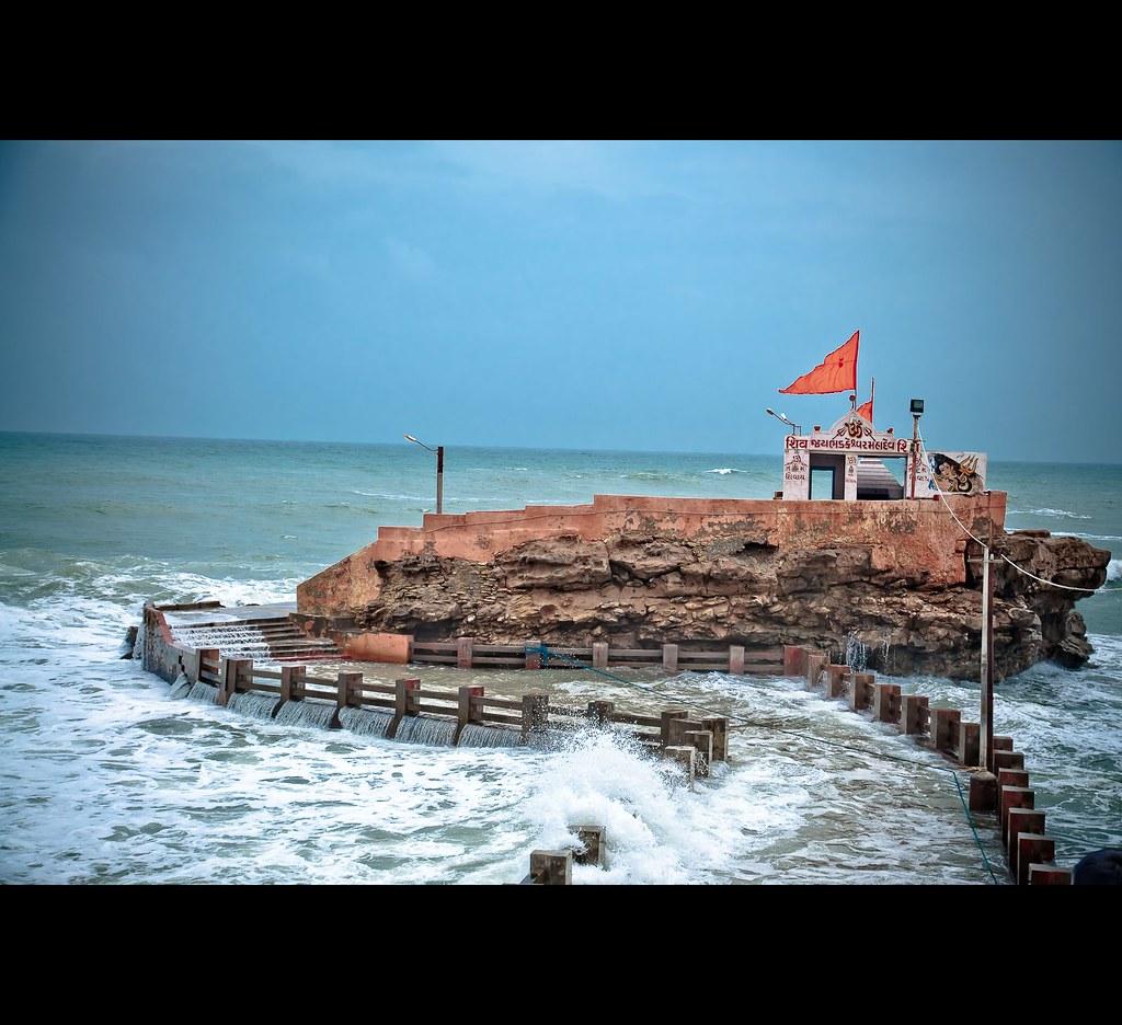The last temple on the western coast of India