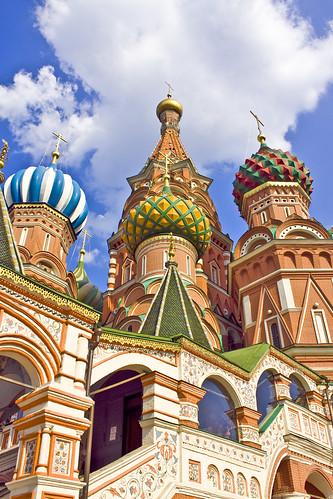 Saint Basil's Cathedral / Храм Василия Блаженного