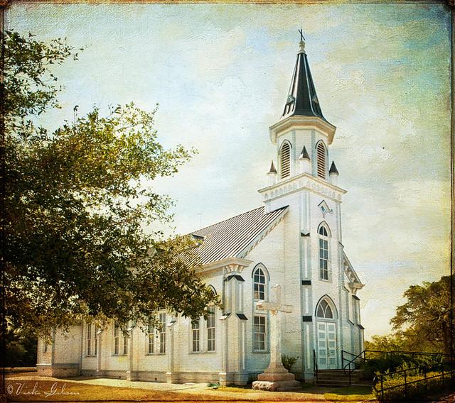 Sts Cyril Methodius Catholic Church Dubina Texas Flickr Photo Sharing