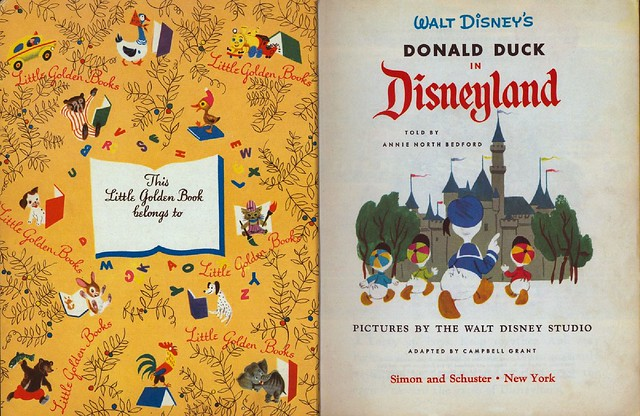 Walt Disney's Donald Duck in Disneyland00002
