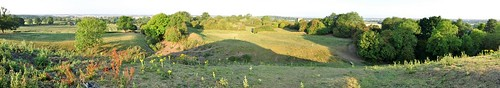 uk morning trees summer england panorama tree castle monument grass dawn early ancient village britain rugby hill panoramic bailey coventry mound warwickshire motte motteandbailey brinklow thetump brinklowcastle
