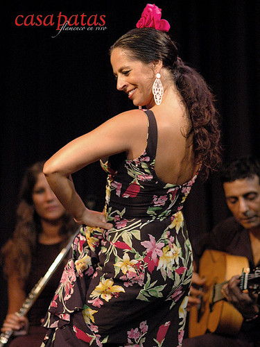 La bailaora Raquela Ortega. Foto: Martín Guerrero