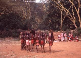 Maasai.  Kenya,1979