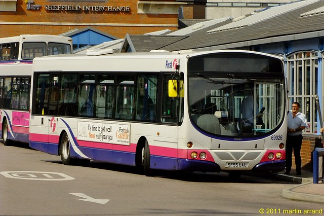 First Bus in Sheffield