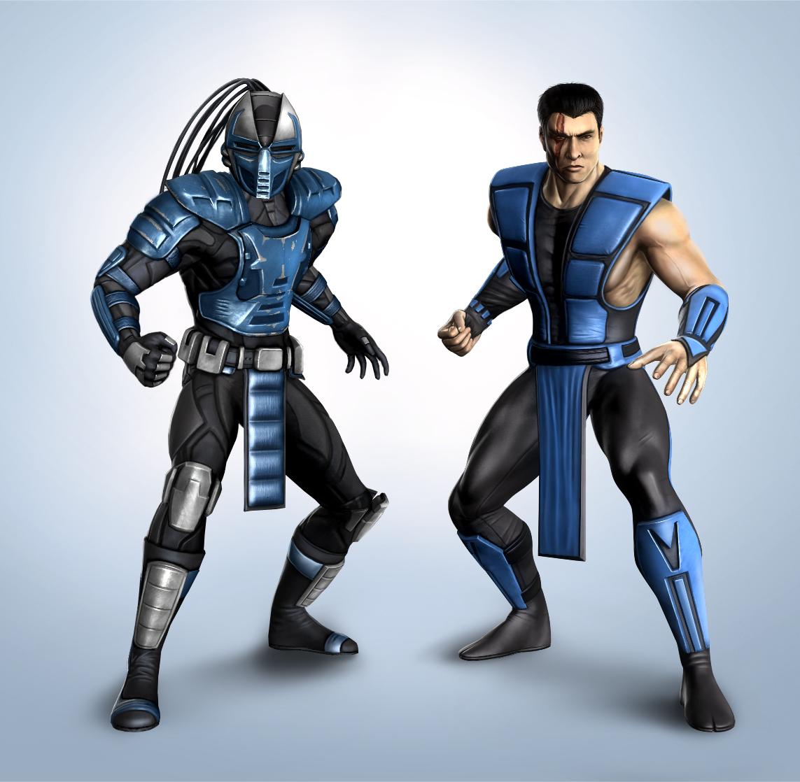 Mortal Kombat Klassic & Retro Cyber Sub-Zero Character ...