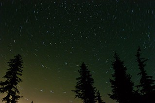 Below the North Star, Mowich Lake, Mt Rainier