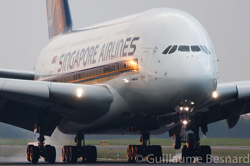 Airbus A380 Singapore Airlines 9V-SKK MSN 051