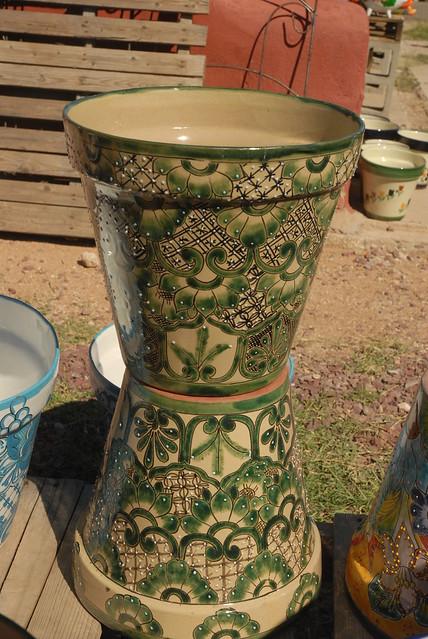 20111003 Pots Mexican Garden Pottery Flickr Photo