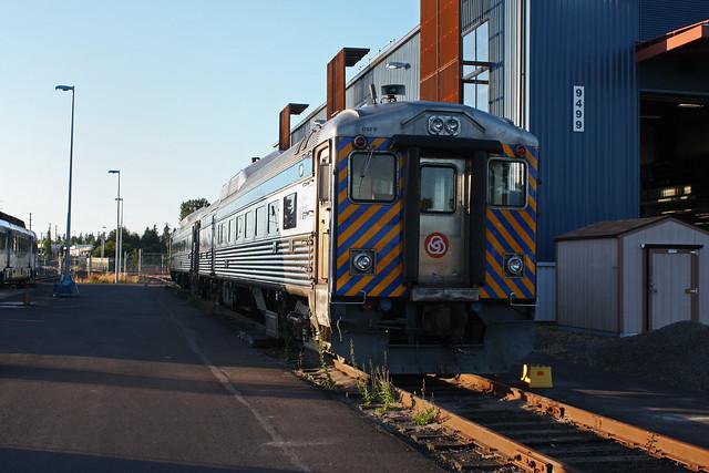 Trimet WES RDC #1702.  Wilsonville Oregon.  July 8 2011.