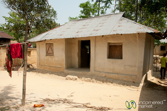 House in a garo village srimongal bangladesh flickr for Bangladeshi house image