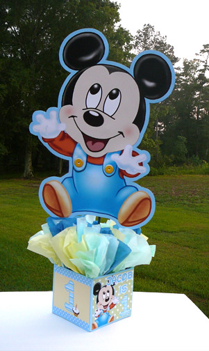 24 inch baby mickey mouse decorations handmade supplies for Baby mickey decoration ideas