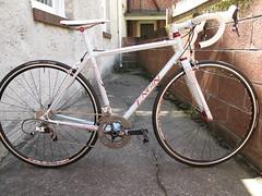 Steve's road bike.