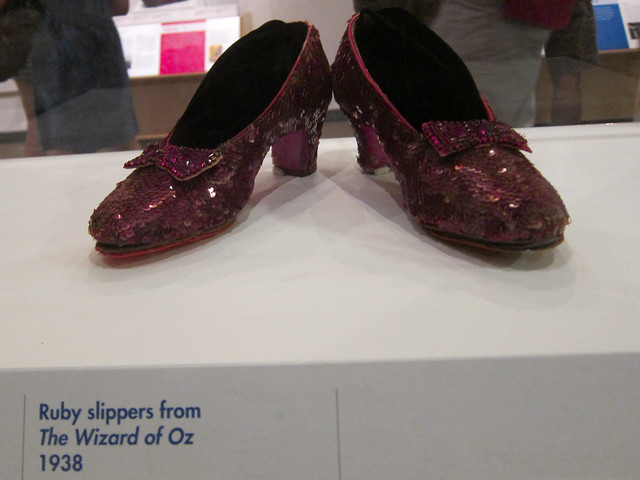 Image result for smithsonian museum ruby slippers