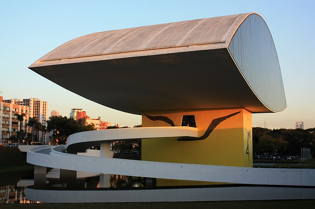 Oscar Niemeyer Museum, Curitiba, PR, Brazil, fotoeins.com