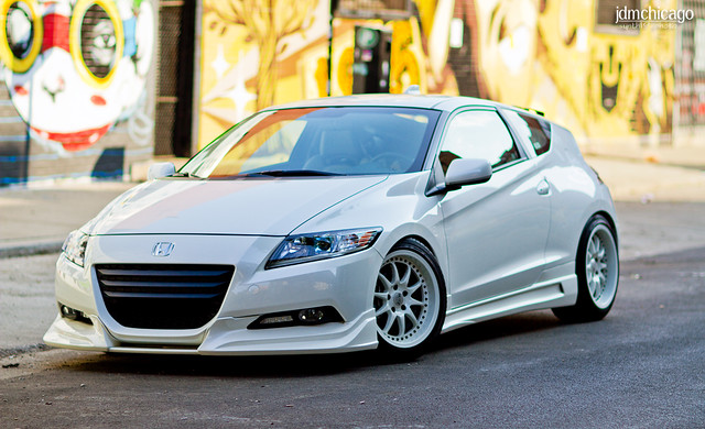 Justin's Honda CRZ