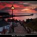 Whitby Sunset by Dave Dummett